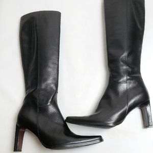 DUO Tall Leather High Heel Boots!